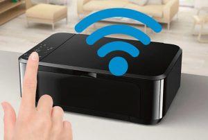 اتصال WiFi پرینتر کانن